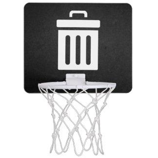 Delete Bins Icon Mini Basketball Hoop