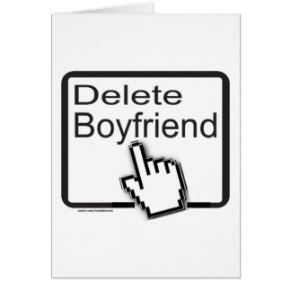 DELETE BOYFRIEND T-SHIRTS AND GIFTS CARD