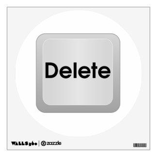 Delete Computer Key Wall Sticker