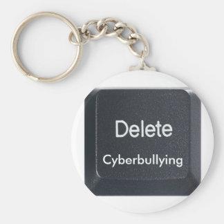 Delete Cyberbullying Keychain
