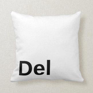 Delete Key Pillow