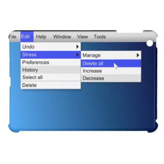 Delete stress. case for the iPad mini