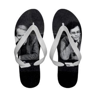 Deleuze and Guattari BFF Flip Flops