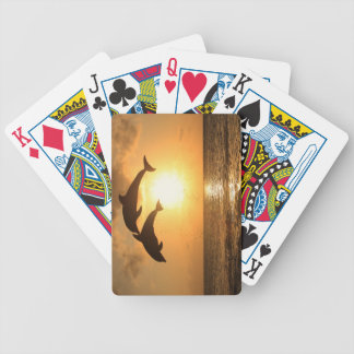 Delfin 3 bicycle playing cards
