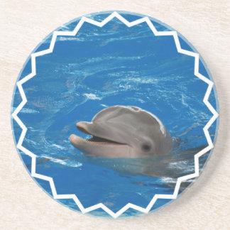 Delfín adorable posavasos manualidades