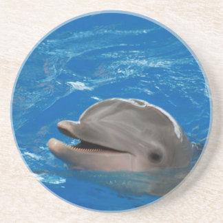 Delfín adorable posavasos para bebidas