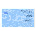 Delfín azul en modelo ondulado plantillas de tarjetas de visita