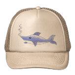 Delfín azul gorras de camionero
