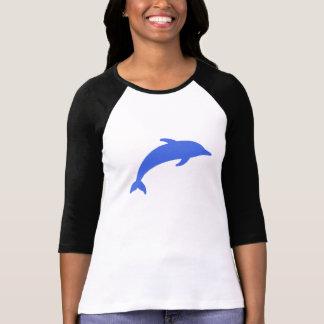 Delfín azul polera