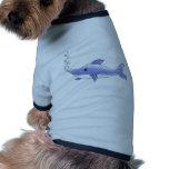 Delfín azul prenda mascota