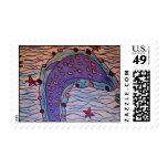 delfín cariñoso sellos