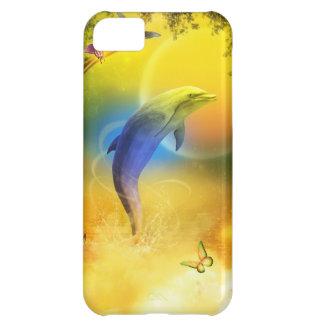 Delfín colorido
