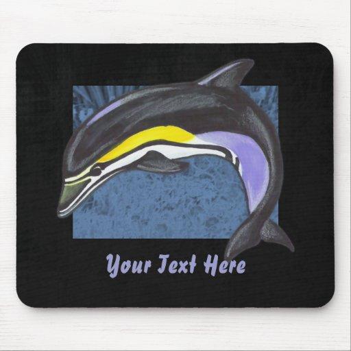 Delfín común Mousepad