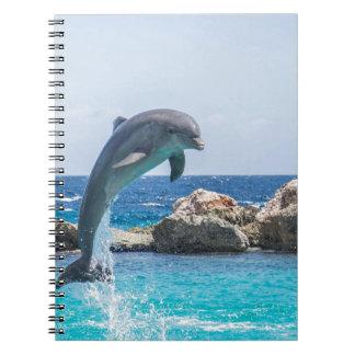 Delfín de Bottlenose Libro De Apuntes