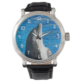 Delfín de Bottlenose Reloj De Mano
