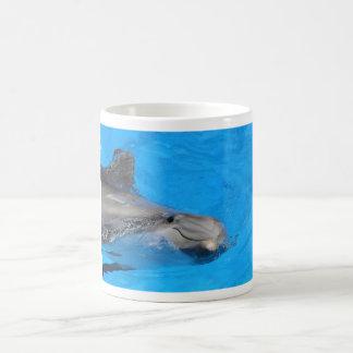 Delfín de Bottlenose sonriente Taza De Café