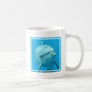 Delfín de Bottlenose subacuático Tazas