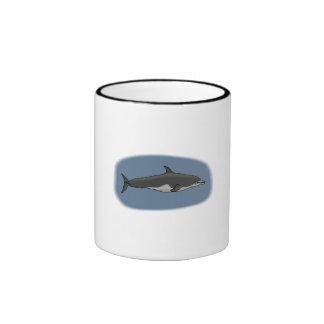 Delfín de Bottlenose Taza De Café