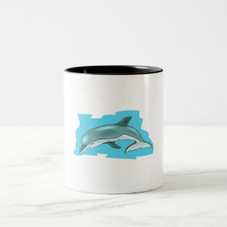 Delfín de Bottlenose Tazas De Café