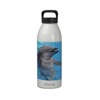 Delfín de la Florida Botella De Agua