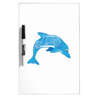 Delfín de lujo pizarra blanca