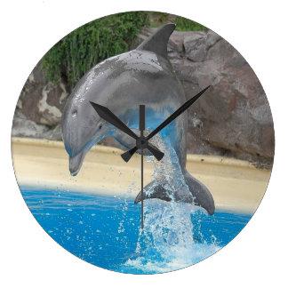 Delfín de salto reloj