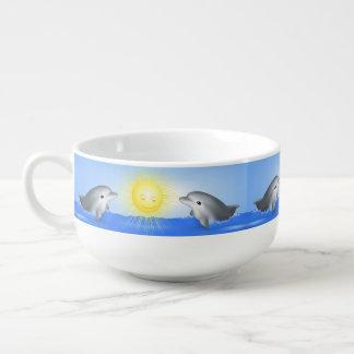 Delfín del bebé tazón para sopa