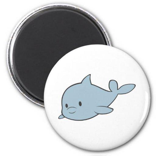 Delfín del bebé imán de frigorífico