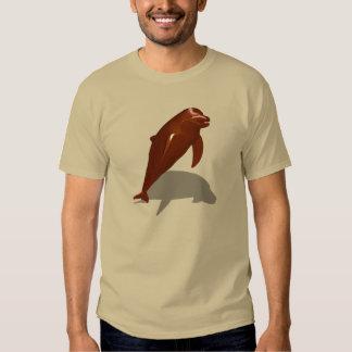 Delfín del chocolate poleras