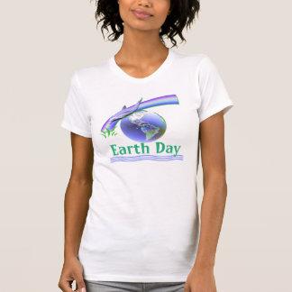 Delfín del Día de la Tierra T-shirt