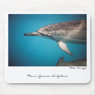 Delfín del hilandero, delfínes del hilandero de Ma Alfombrillas De Ratones