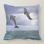 Delfin,Delphin,Grosser Tuemmler,Tursiops 2 Throw Pillows