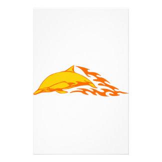 Delfín en llamas papeleria