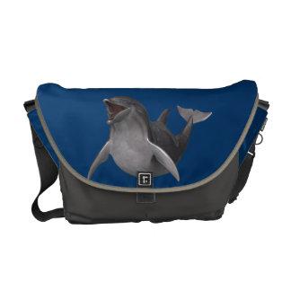 Delfín feliz bolsa de mensajeria