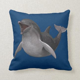 Delfín feliz cojin