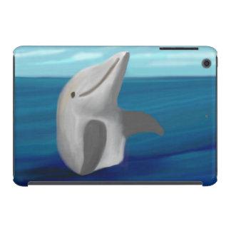 Delfín feliz fundas de iPad mini