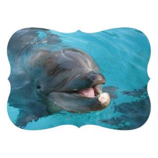 Delfín feliz comunicados personalizados