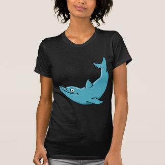 Delfín feliz lindo camisetas