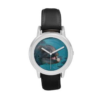 Delfín feliz relojes de mano