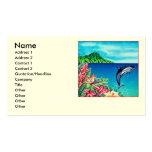 Delfín hawaiano tarjeta de negocio
