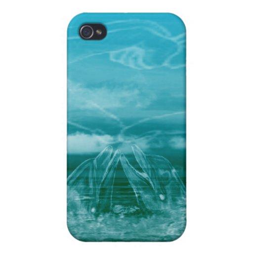 Delfín iPhone 4 Funda