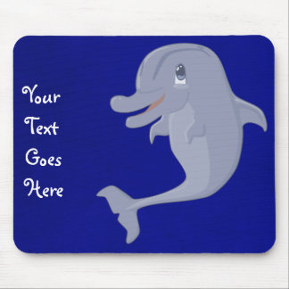 Delfín juguetón Mousepad