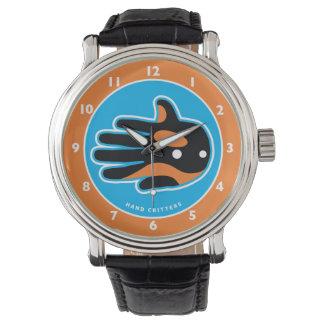 Delfín lindo de la orca de la orca relojes de pulsera