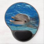 Delfín lindo del rechino alfombrilla con gel