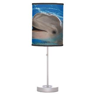 Delfín lindo del rechino