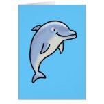 Delfín lindo felicitaciones