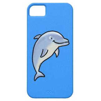 Delfín lindo iPhone 5 carcasas