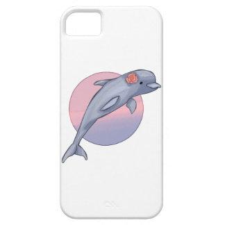 Delfín lindo funda para iPhone SE/5/5s
