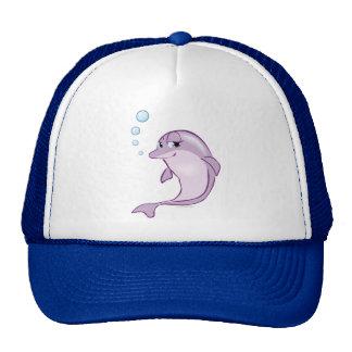 Delfín lindo gorros bordados