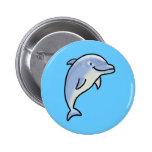 Delfín lindo pin